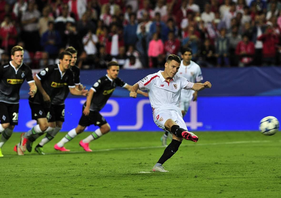 Trifft Gameiro wieder per Elfmeter? Jetzt auf Gladbach gegen Sevilla wetten
