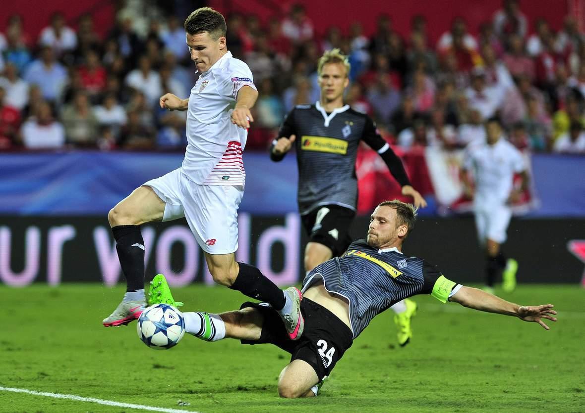 Grätscht Jantschke wieder Gameiro ab? Unser Wett Tipp: Gladbach gewinnt gegen Sevilla