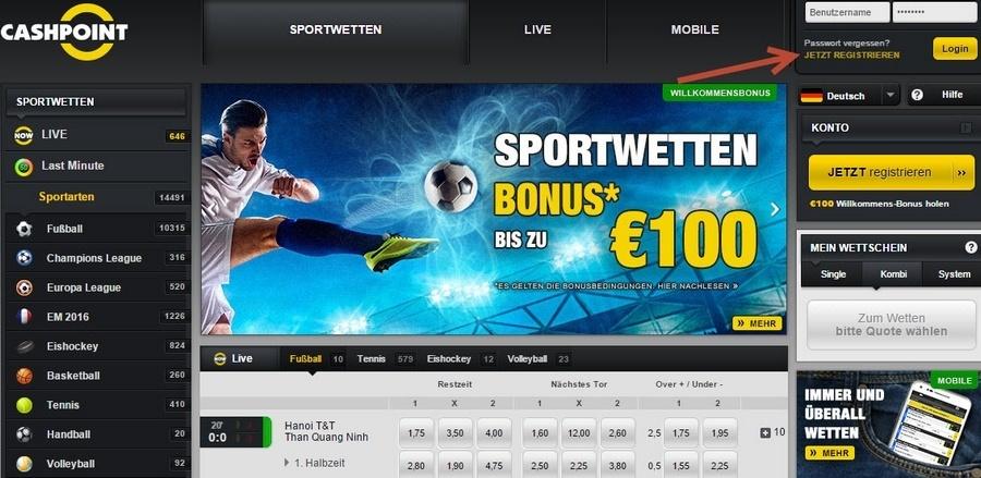 Screenshot_Cashpoint_Startseite_160119
