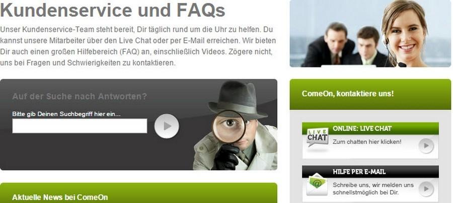 Screenshot_ComeOn_Kundenservice_160119