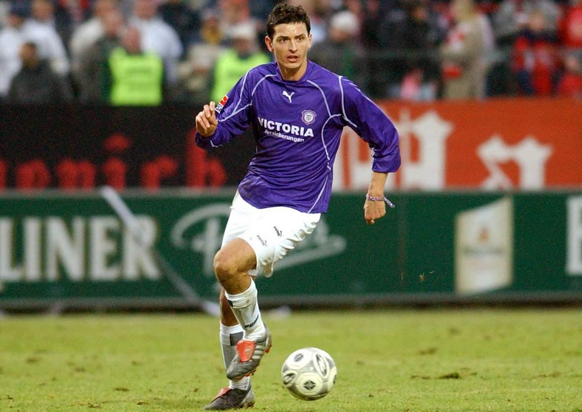 Dino Toppmöller war für die Veilchen am Ball.