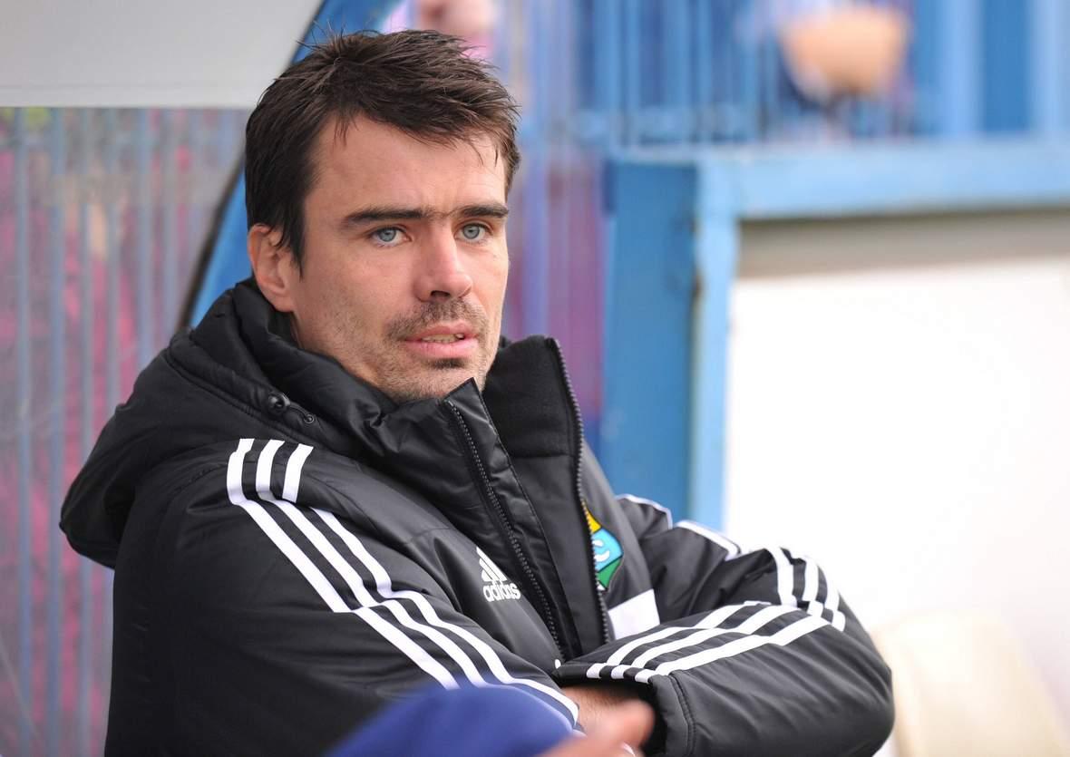Jörg Emmerich, Jugendcoach bei den Himmelblauen.