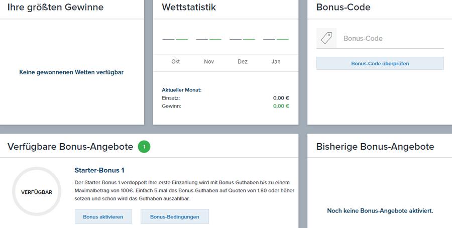 Wettstatistik bei Wetten.com