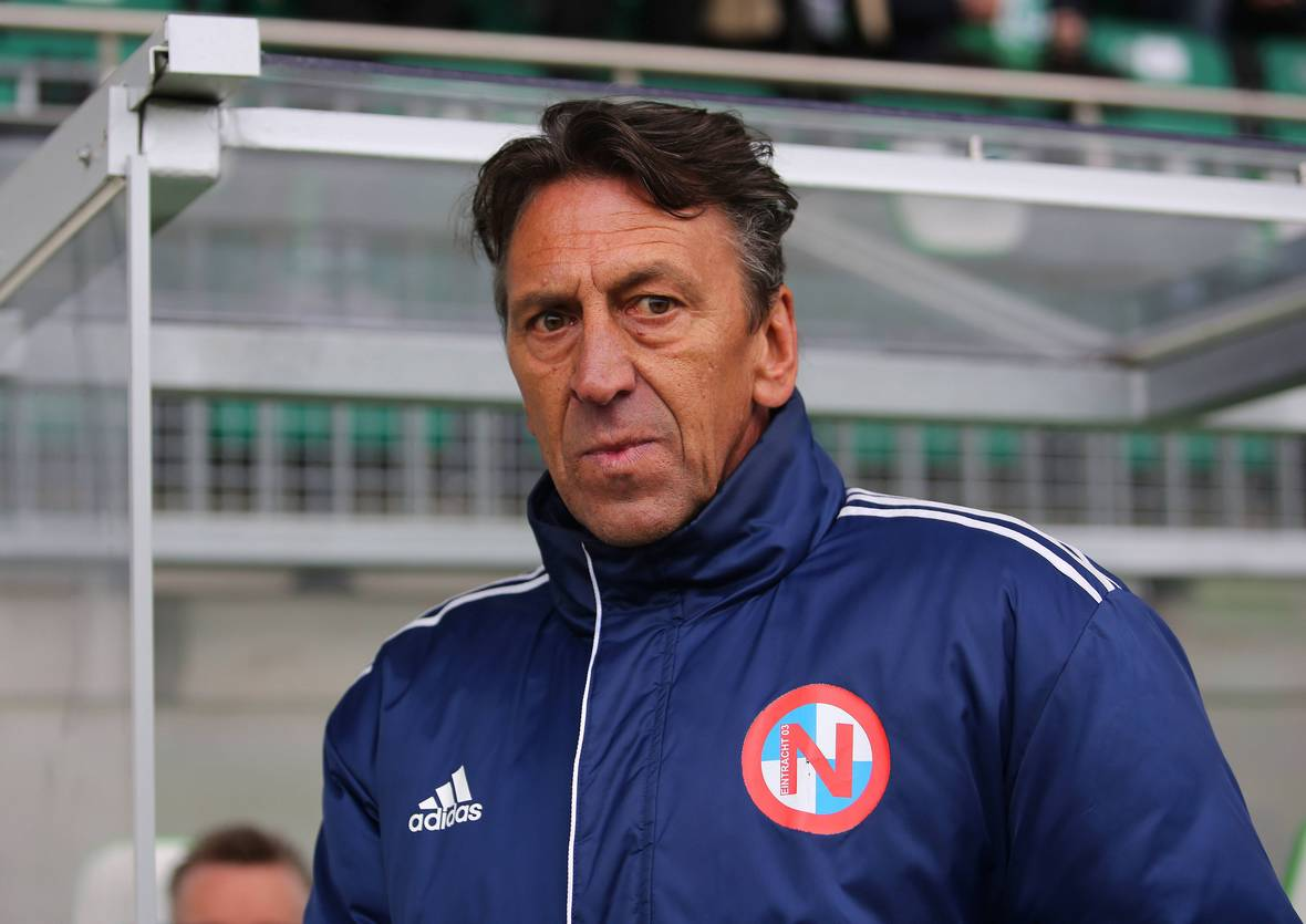Dirk Heyne, Coach von Eintracht Norderstedt.