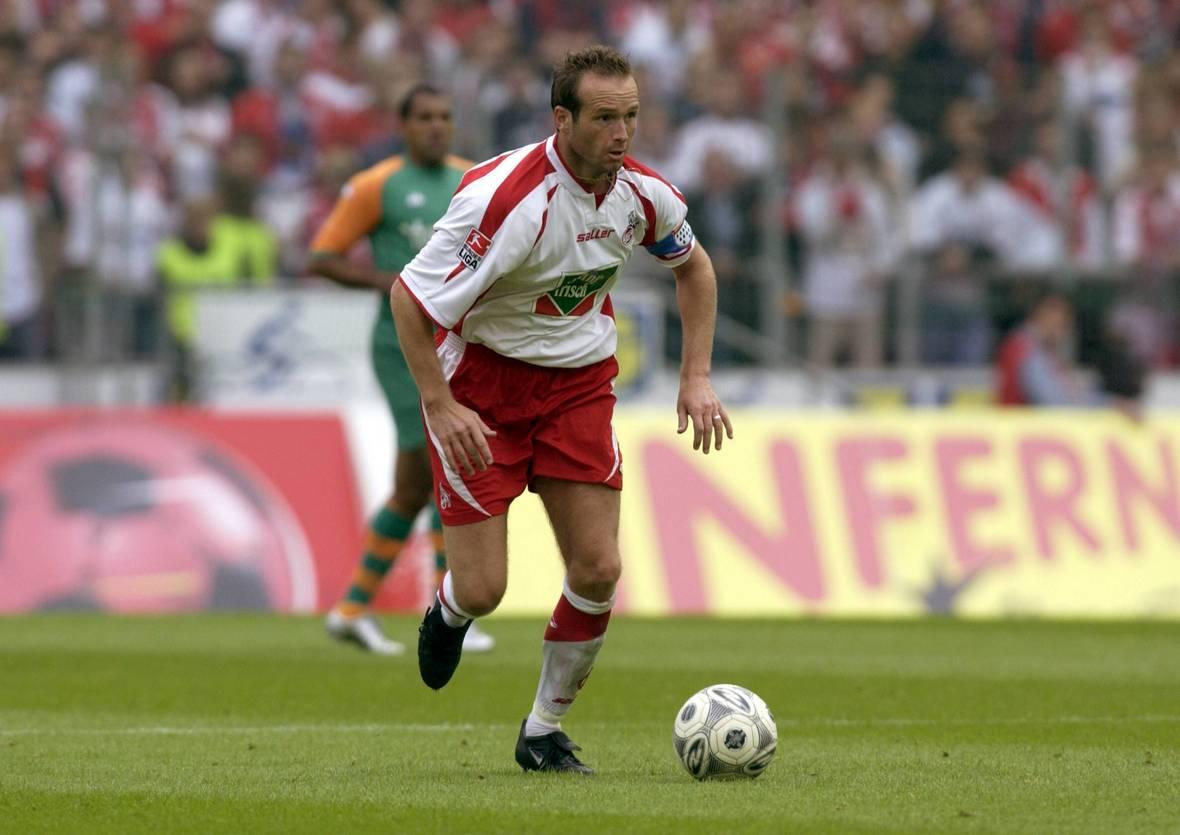 Dirk Lottner war zeitweise auch Kapitän des 1. FC Köln.