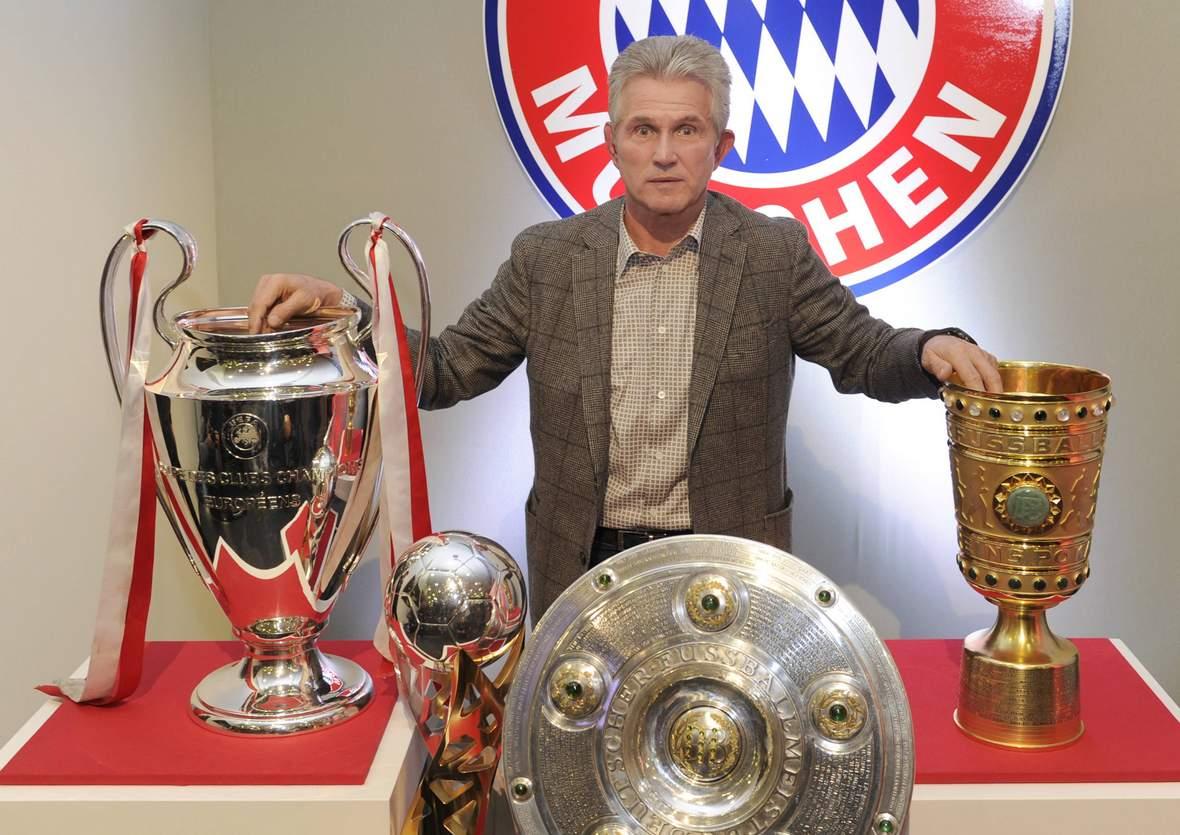 Holt Heynckes wieder alle Pokale? Jetzt auf Bayern Triple 2018 wetten