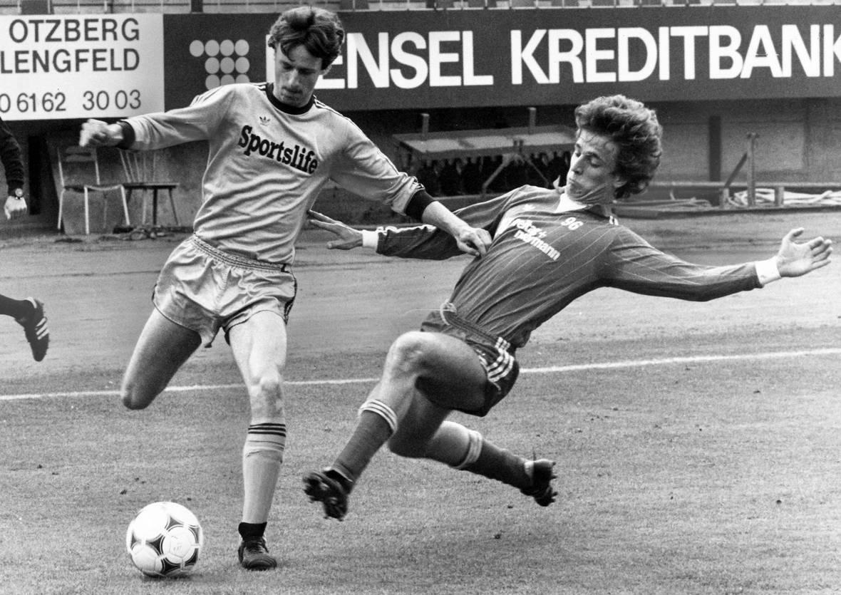 Uwe Kuhl im Spiel gegen Hannover 96.