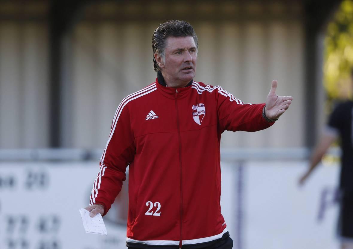 Wilfried Hannes coacht den Fünftligisten in der Mittelrheinliga.