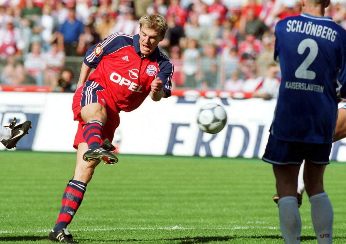 Alexander Zickler trifft für Bayern gegen Kaiserslautern