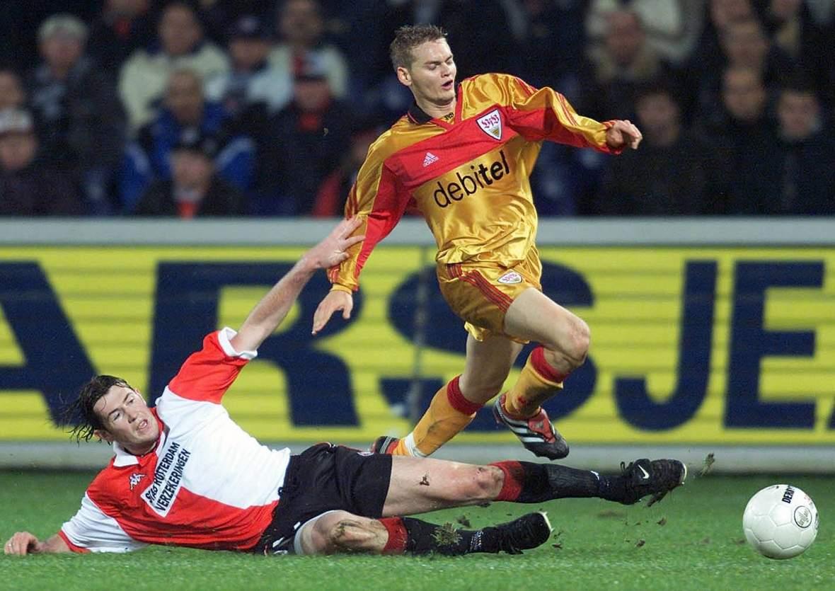 Bradley Carnell vom VfB Stuttgart