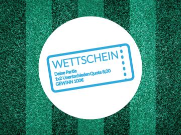 Symbolbild Wettschein
