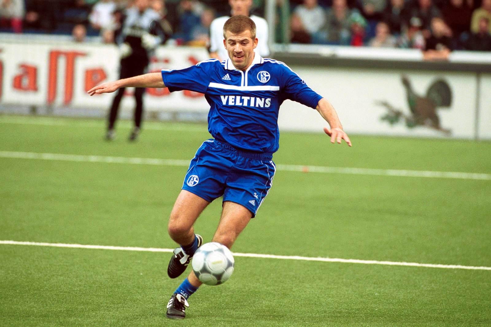 Christian Mikolajczak am Ball für den FC Schalke 04