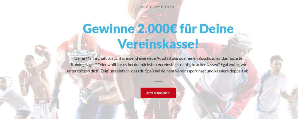 Screenshot vom Wettmaxx Fotowettbewerb Gewinnspiel
