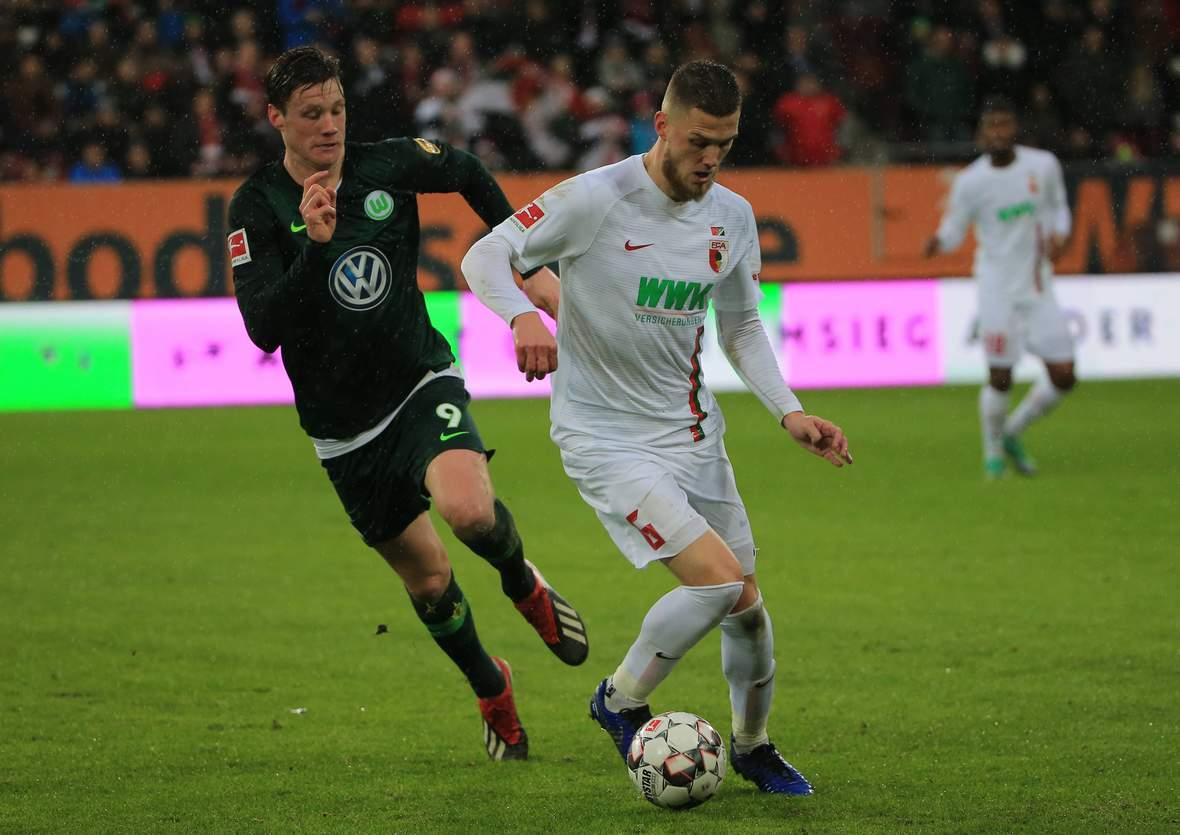 Sichert sich Wout Weghorst gegen den FCA den Europa-League-Platz? Jetzt auf Wolfsburg gegen Augsburg wetten!