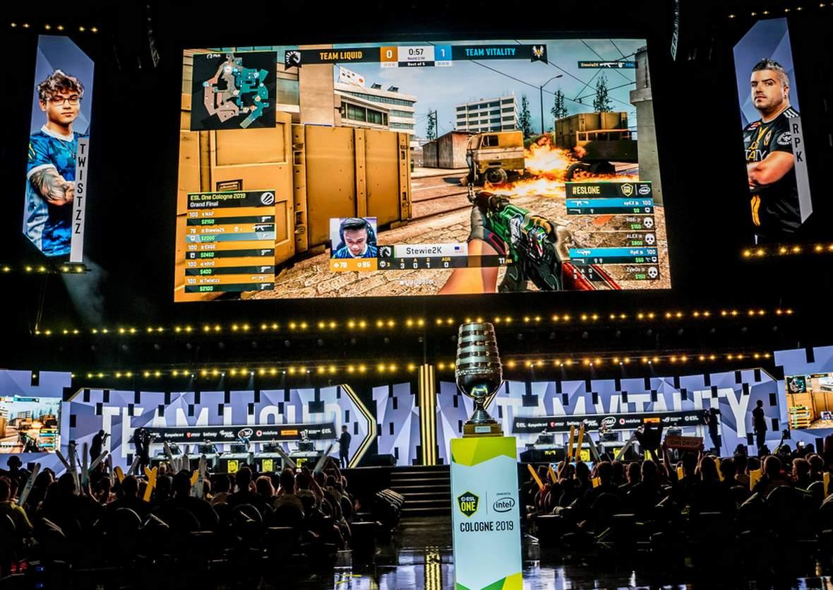 CS:Go bei esport Event auf der Gamescom