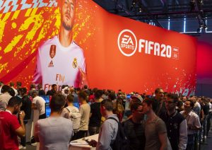 FIFA 20 bei Event von eSports