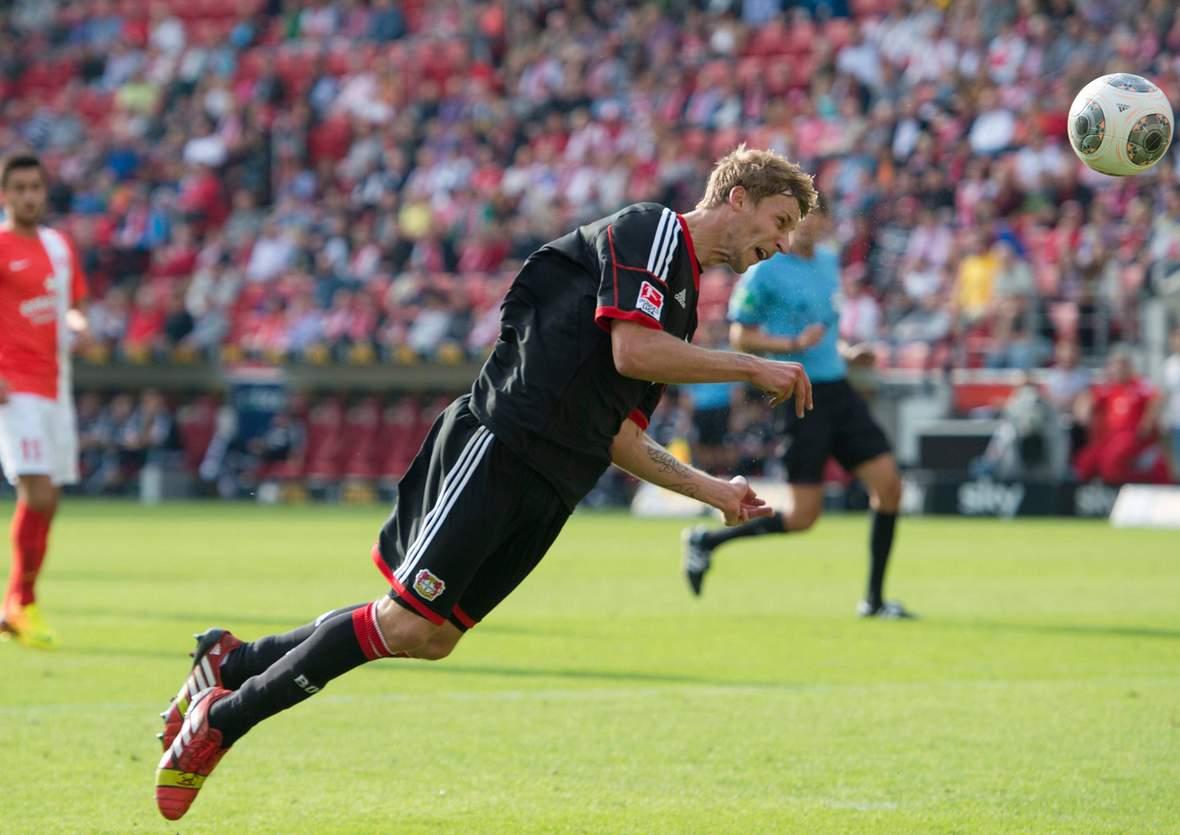 Trifft Kießling wieder per Flugkopfball? Jetzt auf Leverkusen gegen Baryssau wetten