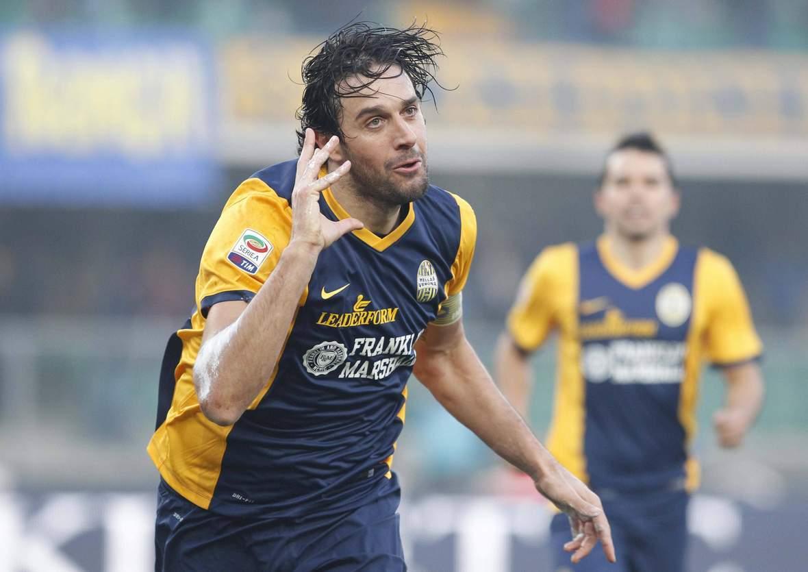 Jubelt Luca Toni wieder? Jetzt Hellas Verona gegen AC Cesena tippen
