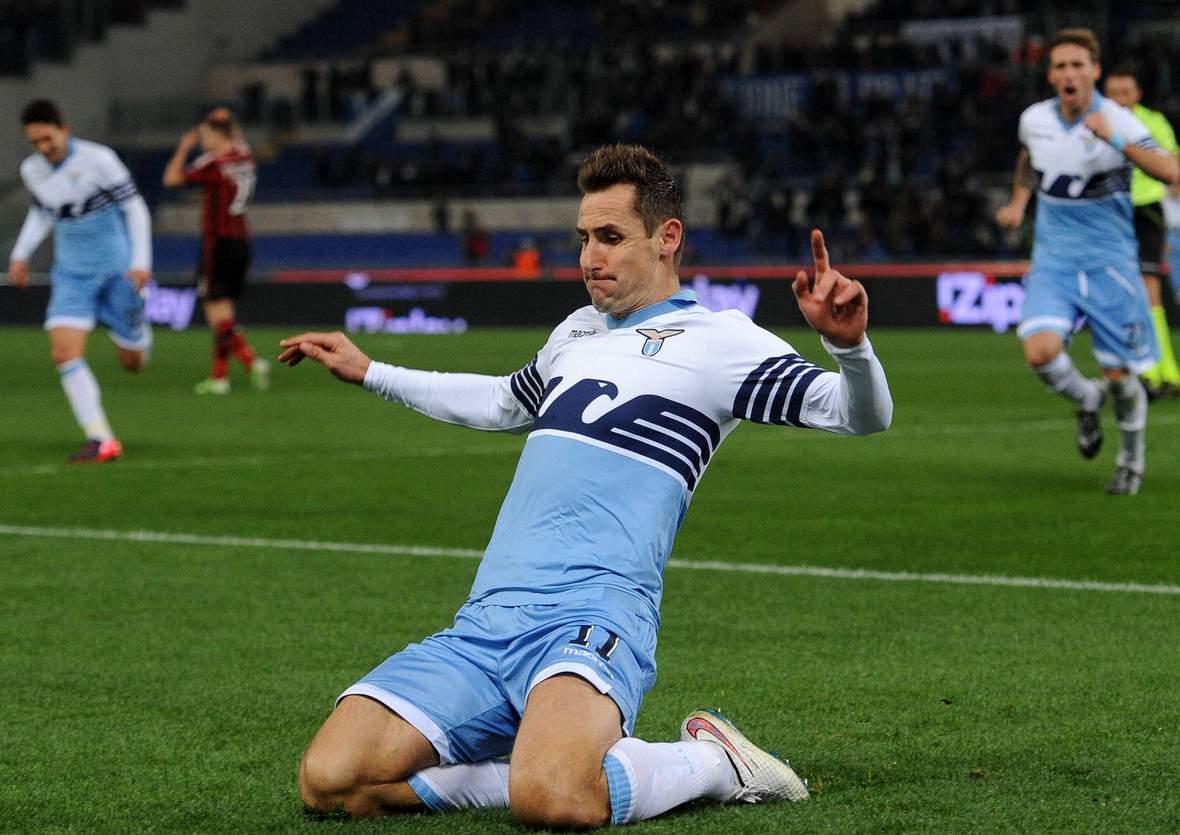 Jubelt Klose wieder? Unser Tipp: Lazio Rom gegen Sampdoria endet unetnschieden