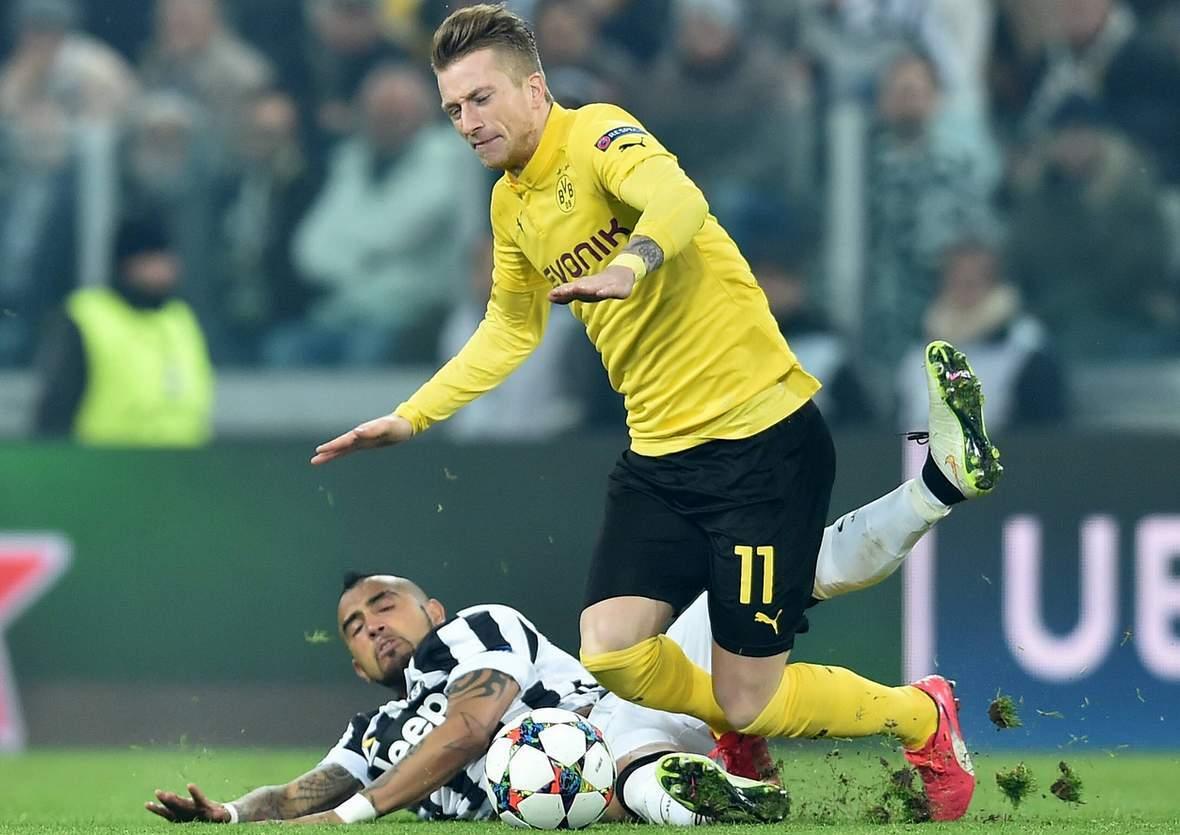 Wird Reus wieder abgegrätscht? Jetzt auf BVB gegen Krasnodar wetten