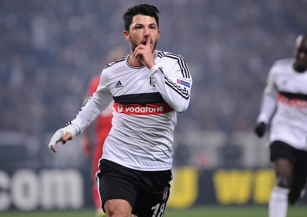 Tolgay Arslan, Ex-HSV-Spieler. Jetzt auf Besiktas gegen Benfica wetten!