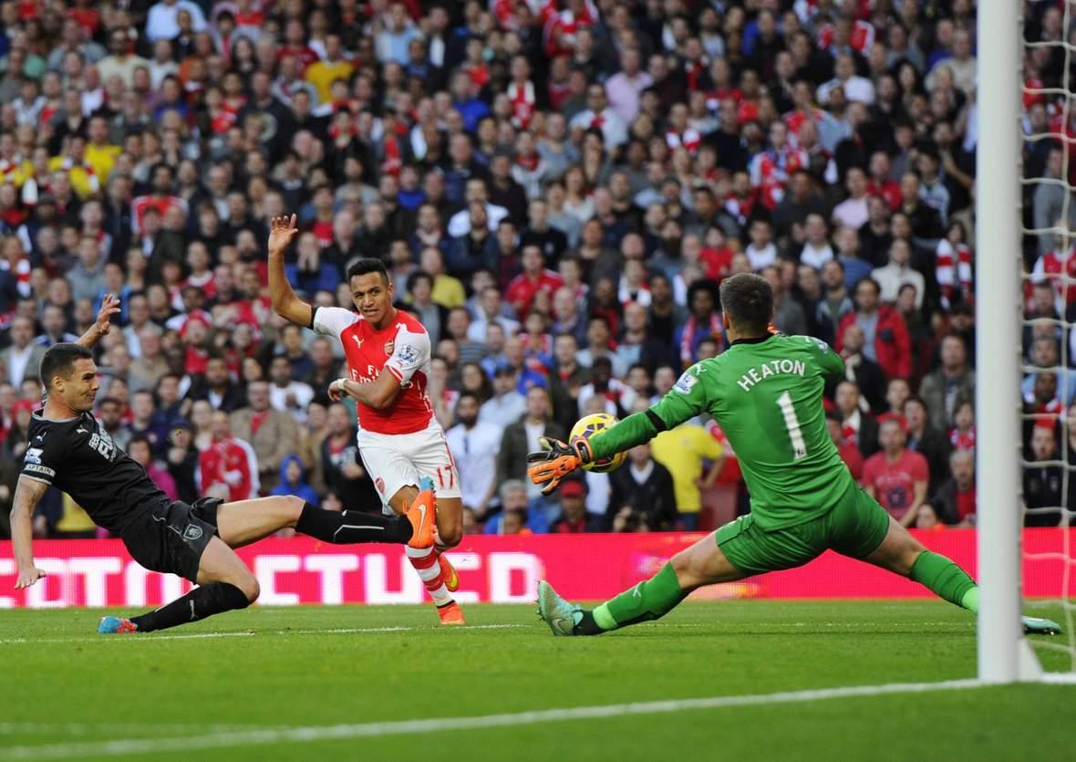 Trifft Sanchez wieder gegen Heaton? Jetzt Burnley gegen Arsenal tippen