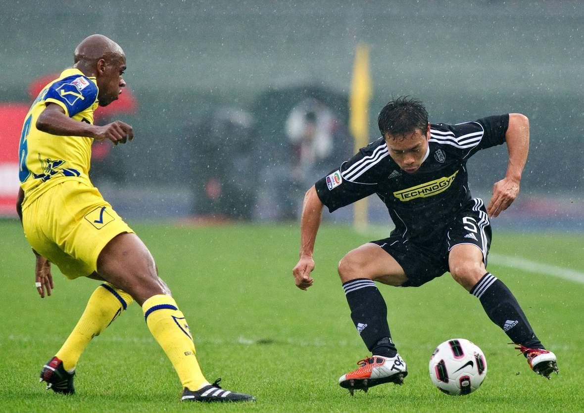 Behauptet sich Nagatomo gegen Fernandes? Jetzt Cesena gegen Chievo tippen
