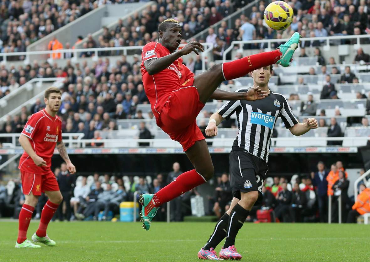 Kontrolliert Balotelli wieder den Ball? Jetzt Liverpool gegen Newcastle tippen