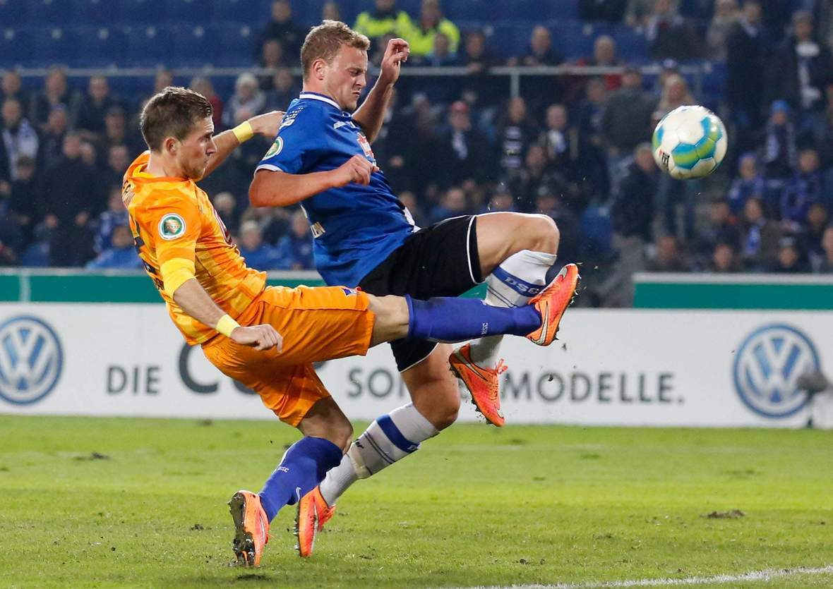 Setzt sich Hemlein wieder gegen Pekarik durch? Jetzt auf Bielefeld gegen Hertha wetten