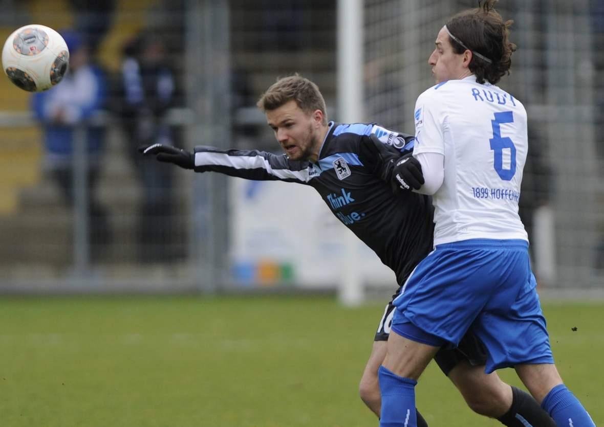 Klaert Hain wieder vor Rudy? Jetzt auf 1860 München gegen Hoffenheim wetten