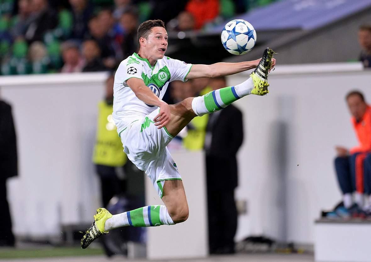Zeigt Draxler wieder eine artistische Ballannahme? Jetzt auf Man United gegen Wolfsburg wetten