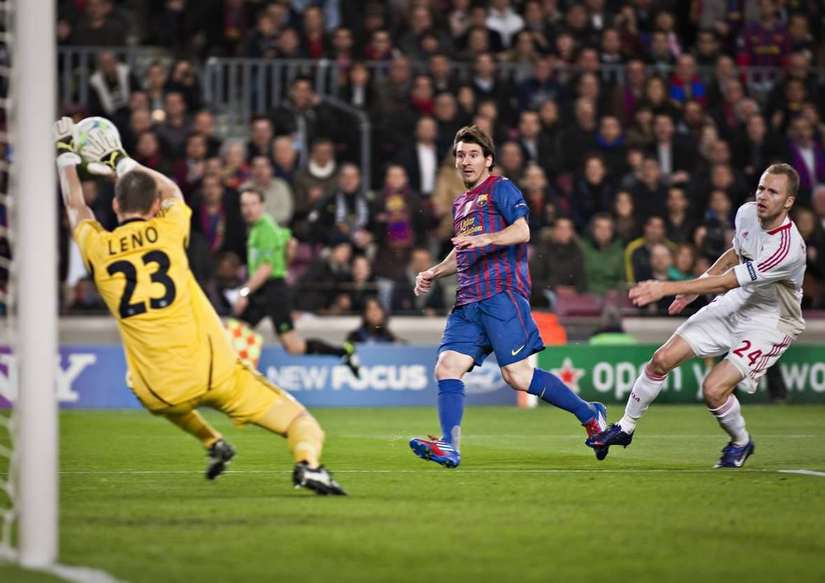 Kassiert Leno wieder ein Messi-Tor? Jetzt auf Barcelona gegen Leverkusen wetten