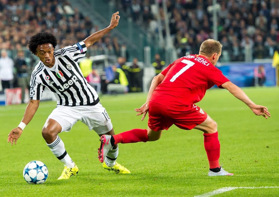 Setzt sich Cuadrado wieder durch? Unser Wett Tipp: Juventus gewinnt gegen Gladbach
