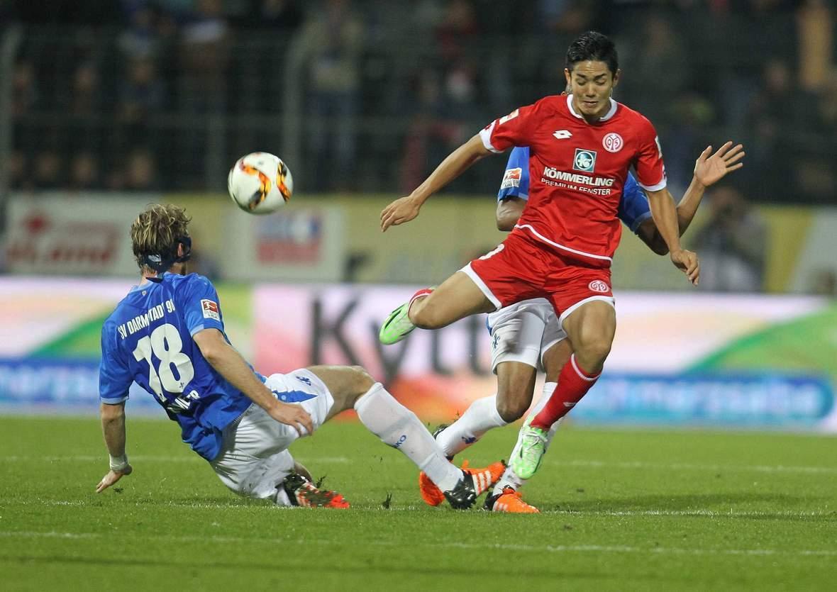 Setzt sich Muto im Zweikampf durch? Unser Wett Tipp: Mainz gewinnt gegen 1860 München