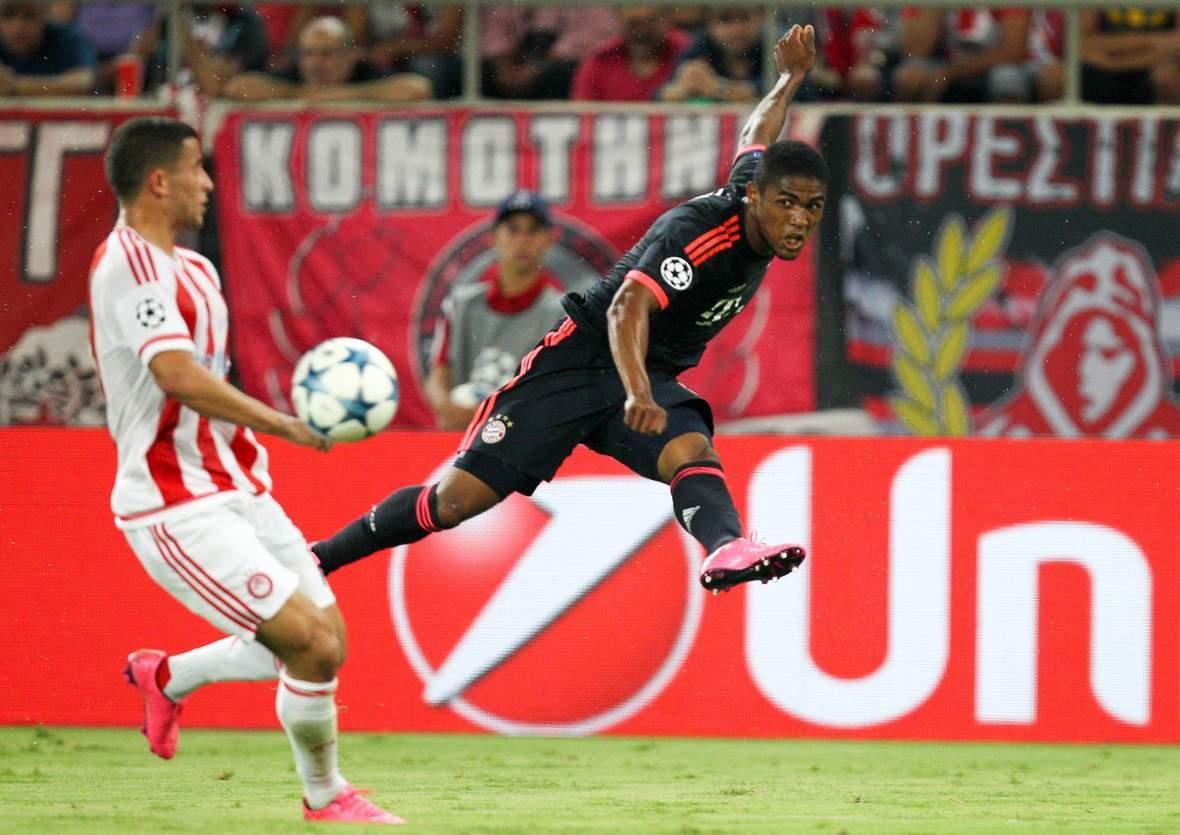 Flankt Douglas Costa wieder genau? Unser Wett Tipp: FC Bayern gewinnt gegen Olympiakos Piräus