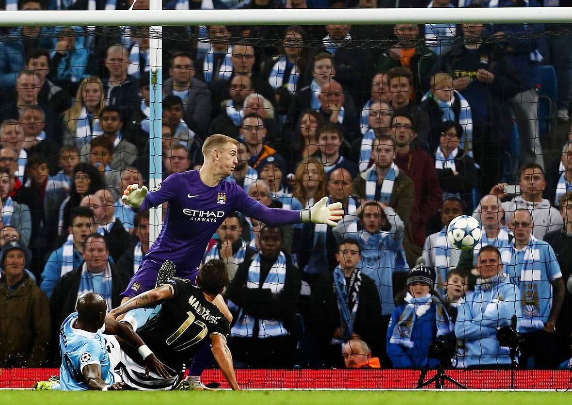 Trifft Mandzukic wieder gegen Hart? Unser Wett Tipp: Juventus gegen ManCity endet unentschieden