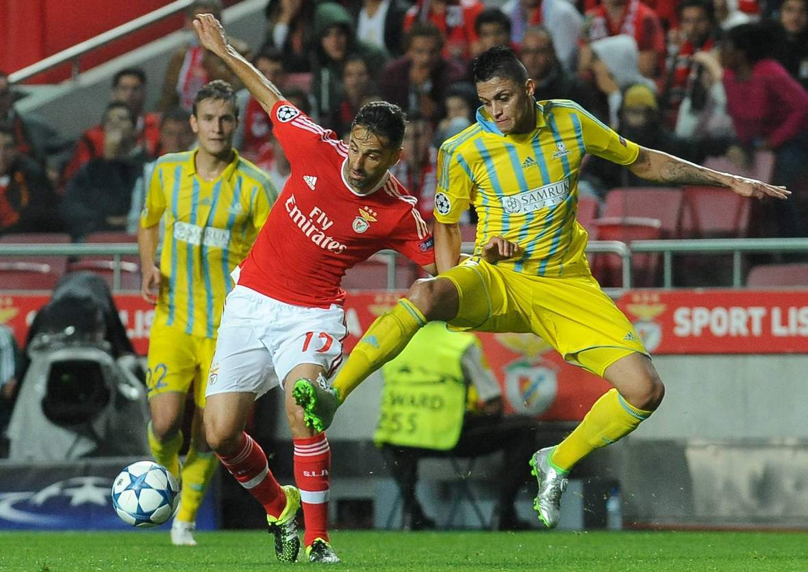 Setzt sich Jonas wieder durch? Unser Tipp: Astana gegen Benfica Lissabon endet unentschieden