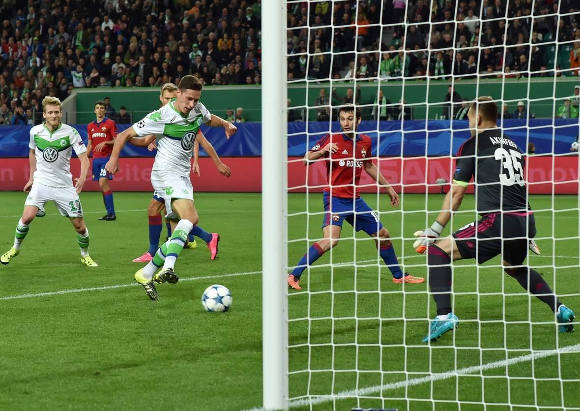 Trifft Draxler wieder in der Champions League? Unser Wett Tipp: ZSKA Moskau gewinnt gegen Wolfsburg