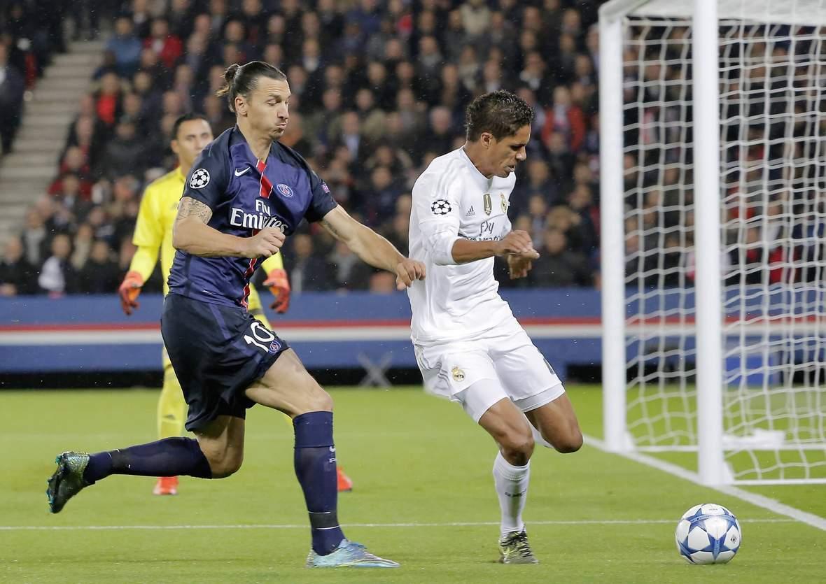 Kann Ibrahimovic Varane stoppen? Unser Wett Tipp: Real gegen PSG endet unentschieden
