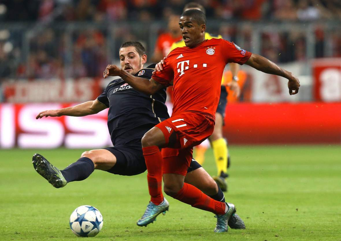 Setzt sich Ademi gegen Douglas Costa durch? Unser Tipp; FC Bayern gewinnt in Zagreb
