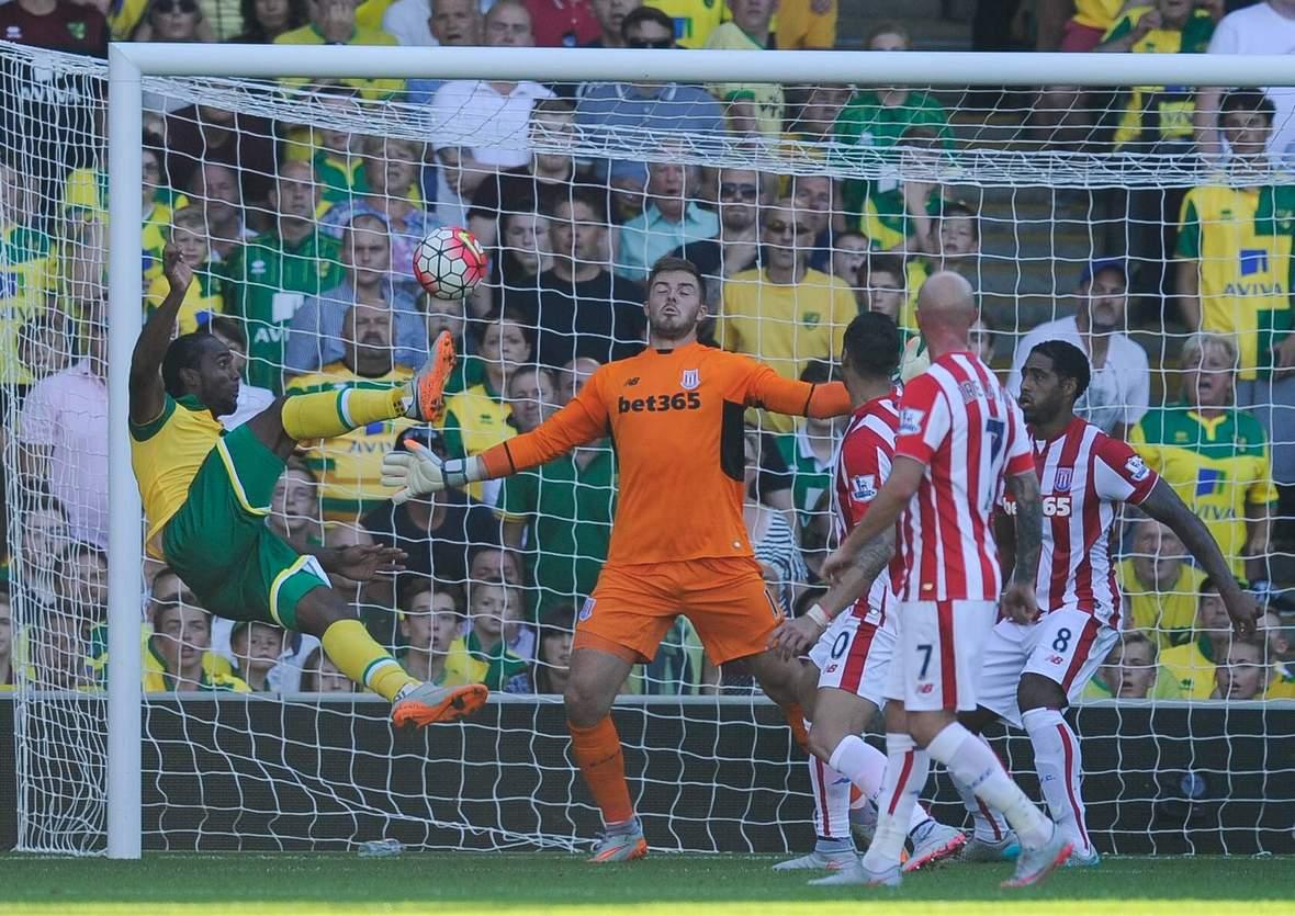 Trifft Jerome wieder gegen Butland? Jetzt auf Stoke gegen Norwich wetten