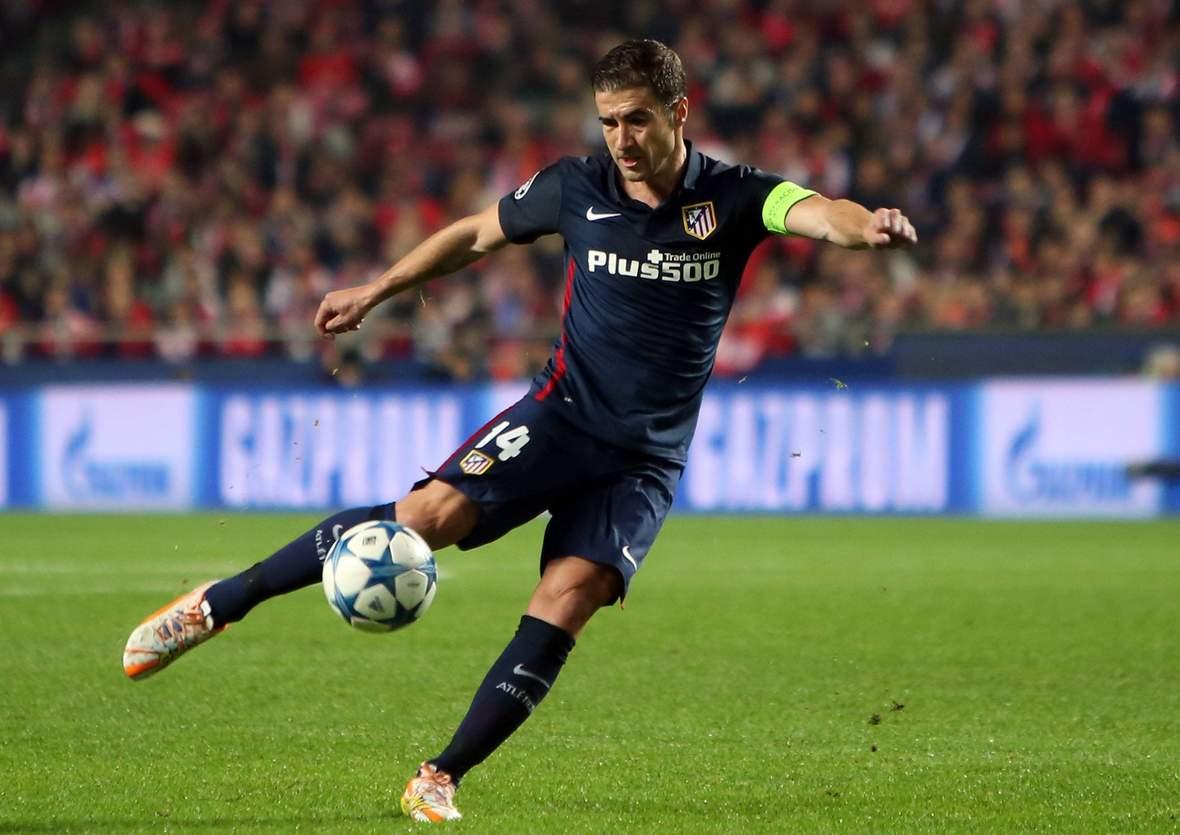 Gabi beim Torabschluss. Unser Tipp: Der PSV Eindhoven gewinnt nicht gegen Atletico Madrid.