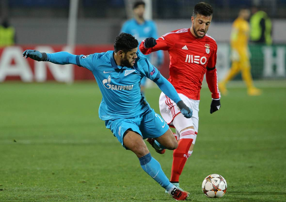 Setzt sich Hulk wieder durch? Unser Tipp: Benfica gewinnt gegen Zenit