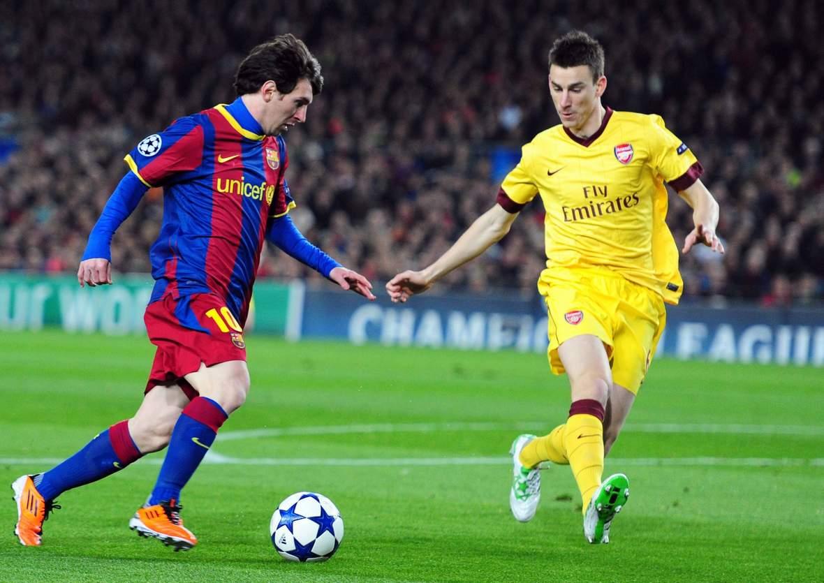 Setzt sich Messi gegen Koscielny durch? Unser Tipp: Barcelona gewinnt gegen Arsenal