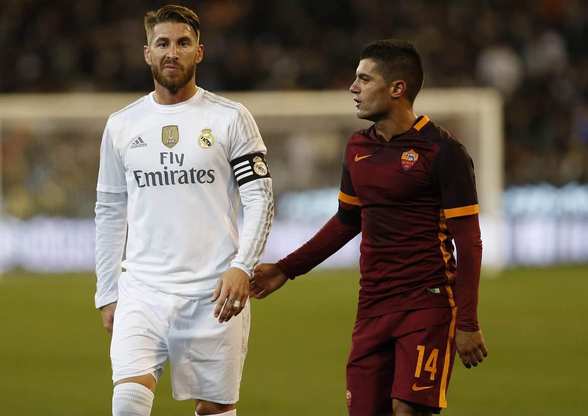 Halten Sergio Ramos und Iago Falque wieder Händchen? Unser Tipp: Real Madrid gewinnt gegen AS Rom