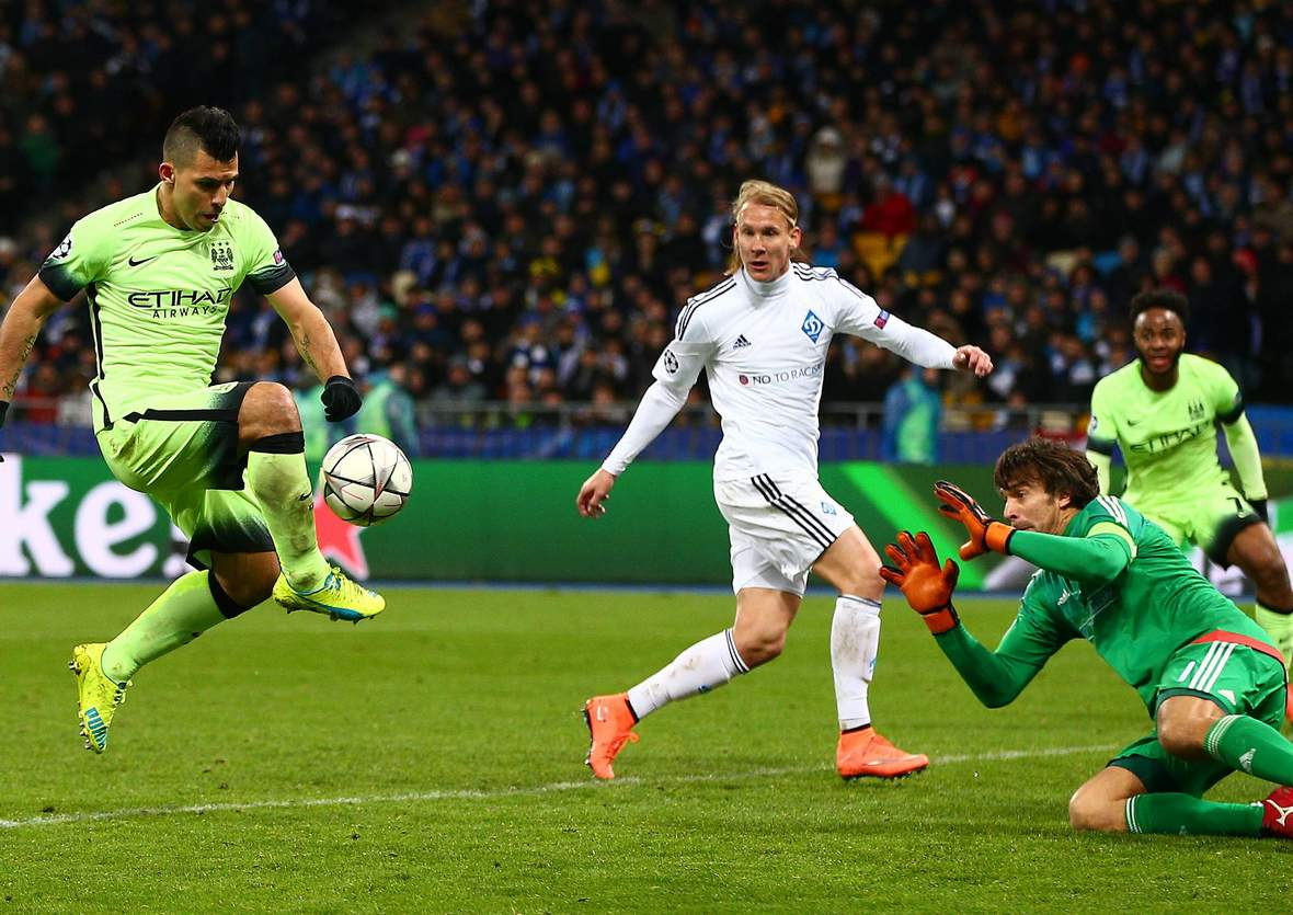 Trifft Agüero wieder gegen Shovkovsky? Unser Tipp: Manchester City gewinnt gegen Kiew