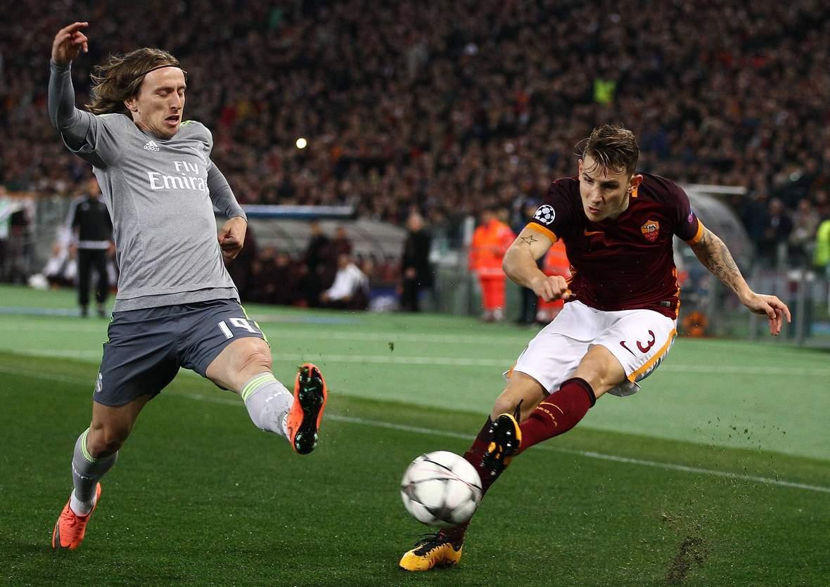 Kann Modric Digne stoppen? Unser Tipp: Real Madrid gewinnt gegen AS Rom