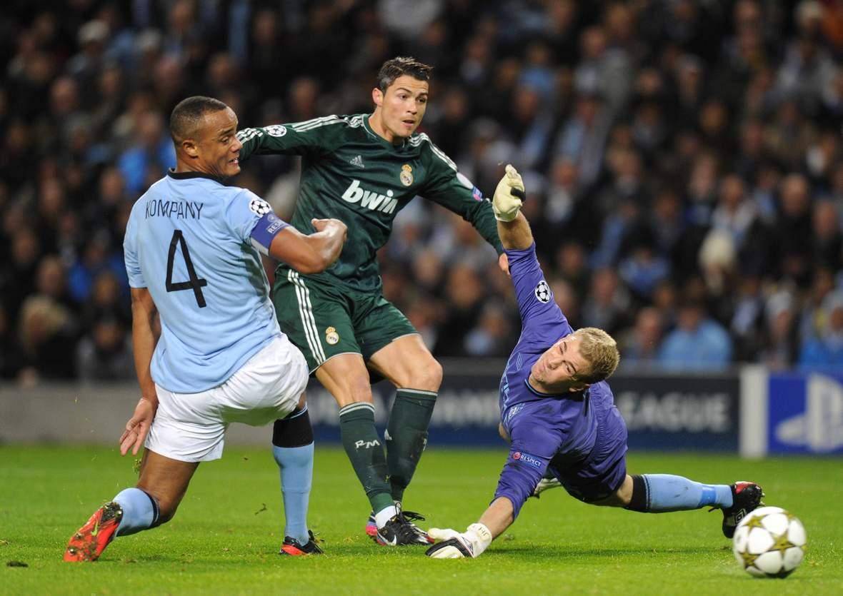 Trifft Ronaldo gegen Hart? Unser Tipp: Real Madrid gewinnt gegen Man City