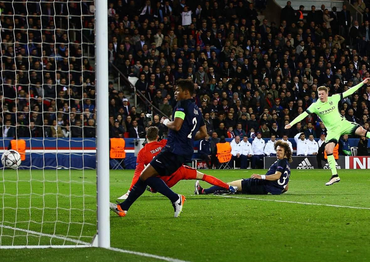 Trifft de Bruyne wieder gegen Trapp? Unser Tipp: Man City gewinnt nicht gegen PSG