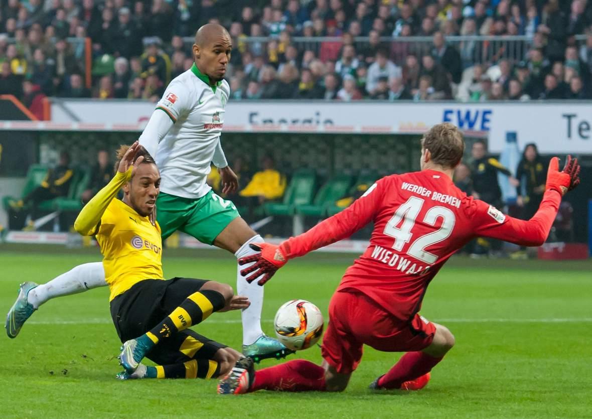 Trifft Aubameyang wieder gegen Wiedwald? Unser Tipp: BVB Dortmund gewinnt gegen Werder Bremen